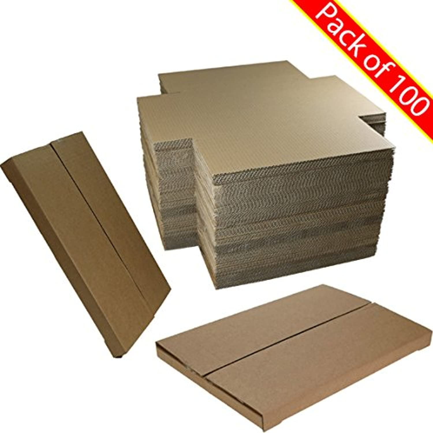 DieCut Postal Mailing Cardboard Boxes  Pack of 100