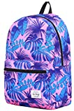 HotStyle TRENDYMAX Backpack for School Girls & Boys, Durable and Cute Bookbag with 7 Roomy Pockets, TropicalPink