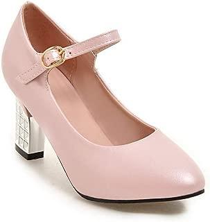 BalaMasa Womens APL12388 Pu Heeled Sandals