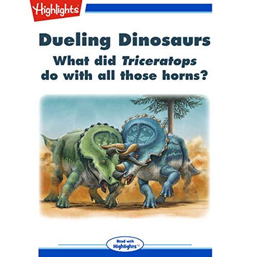 Dueling Dinosaurs copertina