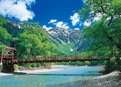 2000ピース ジグソーパズル 日本の風景 河童橋と清流-長野 スーパースモールピース (38×53cm)