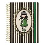 Gorjuss Classic Stripe Collection - Diario a righe, grande con motivo a righe, la sciarpa...