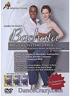 Learn To Dance Bachata, Bachata Dance Mastery System Set: A Step-By-Step Guide To Bachata Dancing