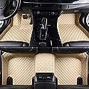 DYBANP Auto Fußmatten, Für Jaguar XJ 2010-2018, Auto Fußmatten Teppiche Abdeckung Fußpolster Autozubehör