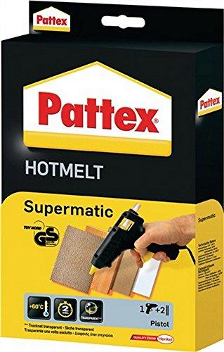 Heißklebepistole PXP 06 D.12mm mit 6Patronen PATTEX 230/50V/Hz