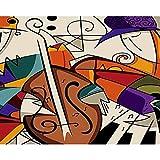 DMLGQ Digitale Malerei zum Basteln, Ölgemälde, Dekoration, von Ihnen selbst gemacht:...
