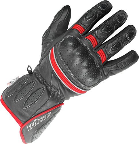 Büse Pitlane Handschuhe 10 (XL) Rot/Schwarz