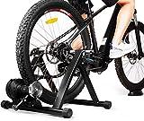 INTEYRodilloBicicletaPlegable, RodilloMagnéticodeCiclismo con 6 Niveles de Resistencia, Adecuado para 24 a 28 Pulgadas, Bicicletas 700c o Bicicletas de Montaña(No Incluye Bicicleta)