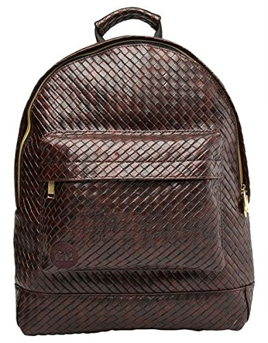 Mi-Pac Gold, Mochila Tipo Casual, 41 cm, 17 litros, Braid D Brown