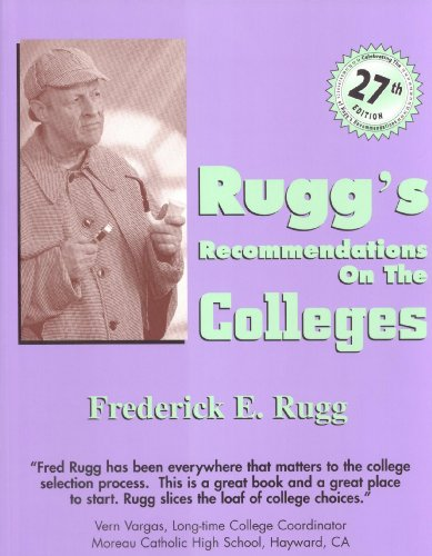 Ruggs Recommendations On The Colleges 27th Edition