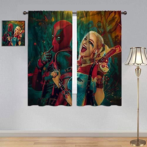 517wrI24GQL Harley Quinn  Curtains