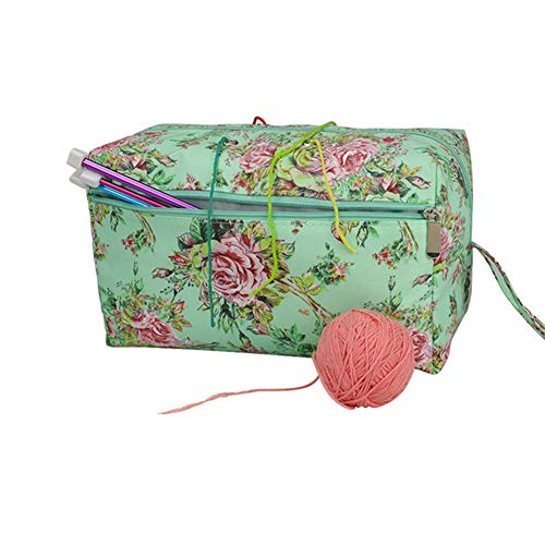 Katech Empty Yarn Bag Portable Knitting Bags Crochet Sewing Accessories Storage...