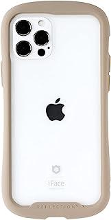 iFace Reflection iPhone 12/12 Pro ケース クリア 強化ガラス iPhone2020 6.1インチ [ベージュ]