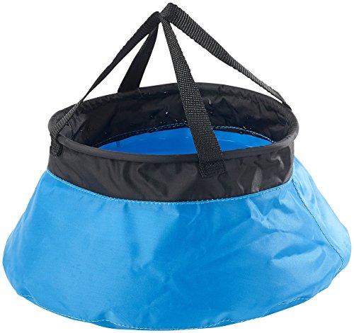 Seau de camping pliable en nylon - 5 L