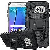 ykooe Cover Samsung Galaxy S7, Silicone Custodia Samsung S7 Doppio Strato a Ibrida Phone Caso con...