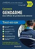 Concours Gendarme - Sous-officier de gendarmerie externe - 2020/2021 : Tout-en-un (Fonction Publique d'État t. 1)