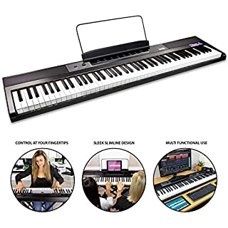 RockJam 88-Key Beginner Digital Piano/Keyboard with Full-Size Semi-Weighted Keys, Power Supply and Built-In Speakers (B07FW2YG7N) | Amazon price tracker / tracking, Amazon price history charts, Amazon price watches, Amazon price drop alerts