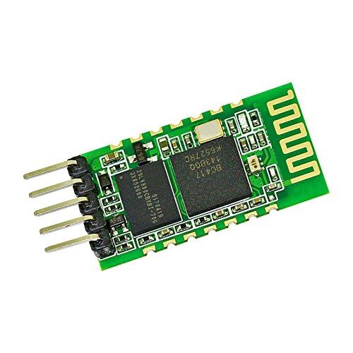 ULIAN Módulo Bluetooth HC-31 actualización HC-05 suelo libre DIY 3.3/5V módulo puerto serie inalámbrico transparente