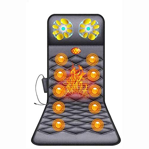For Sale! KYLL Shiatsu Massage Cushion with Heat Massage Chair Pad Kneading Back Massager for Home O...