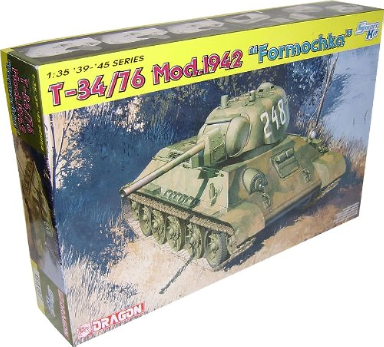 DRAGON 6487 T-34 76 Mod 1942 Formochka Ltd Model Kit 1 35