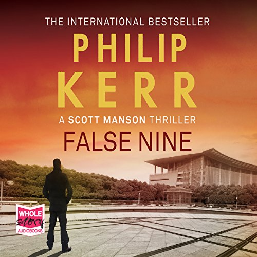 False Nine audiobook cover art