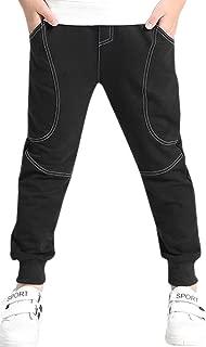 BINPAW Boy's Cotton Sweatpants, Age 4T-14 (4-14 Years)