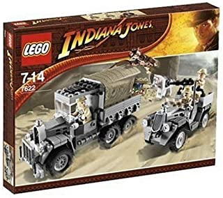 Recapture of Lego (LEGO) Indiana Jones and the arc (tabernacle) 7622