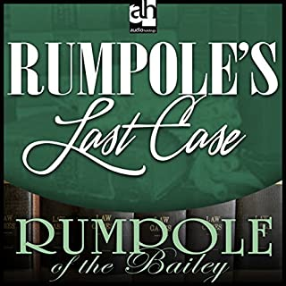Rumpole's Last Case audiobook cover art