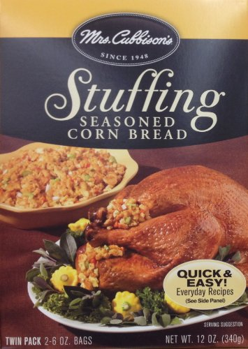 Mrs. Cubbison's CORN BREAD Stuffing 12oz. (4 Boxes)