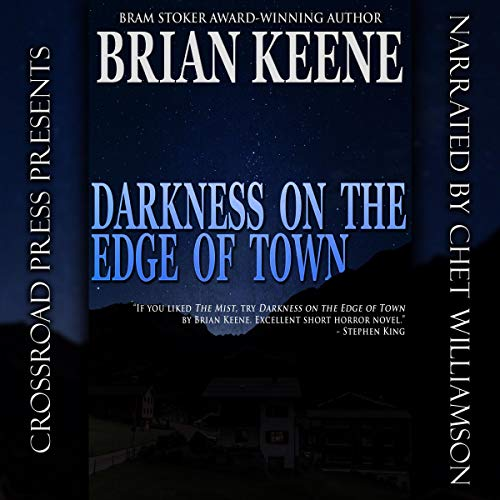 Darkness on the Edge of Town audiobook cover art