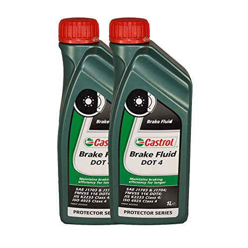 LUBRIALPHA Fluido Freni Castrol Brake Fluid Dot4...