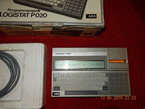 AEG Logistat P020 Programmiergerät für SPS von AEG, geprüft, UNGEBRAUCHT im OVP