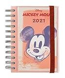 Grupo Erik - Agenda anual 2021 Mickey Films, Día página (11,4x16 cm)