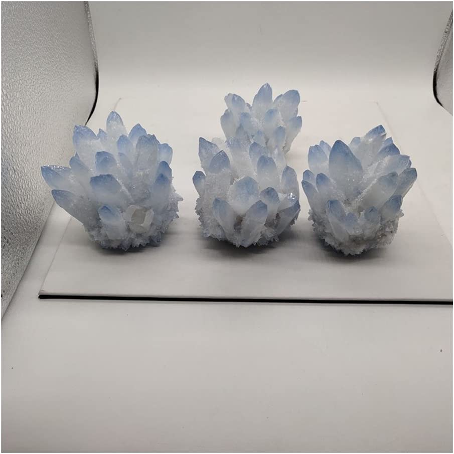 sousy 400-500g Rare Dedication Natural Blue Boston Mall Mineral Crystal Cluster Specime