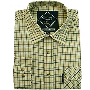 Customer reviews Country Classics Balmoral LS Check Mens Shirt - Balmoral-Yellow - 2XL:Isfreetorrent
