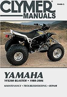 yamaha blaster troubleshooting
