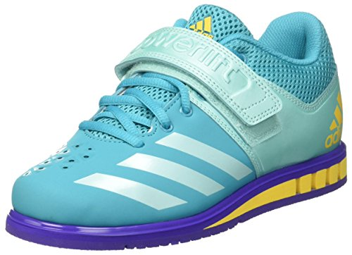 adidas Women's Powerlift.3.1 Fitness Shoes, Blue (Eneaqu/Nobink), 10 UK