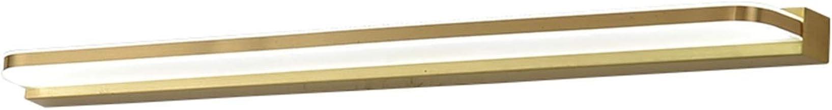 Spiegelvoorlicht, LED-acrylmateriaal is eenvoudig en modern, geschikt voor badkamercreatief waterdicht en anti-condens-wan...