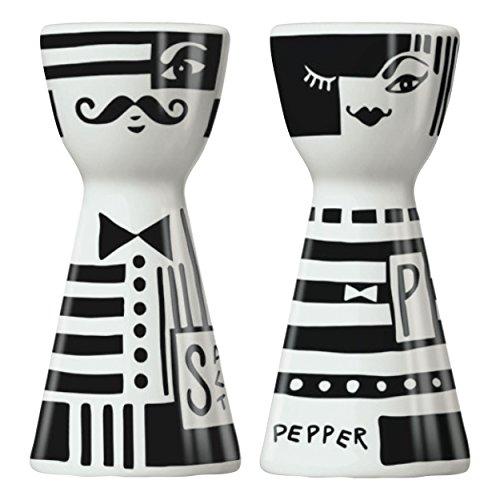 RITZENHOFF Mr. Salt & Mrs. Pepper Salz- und Pfefferstreuer von Andrea Arnolt, aus Porzellan, mit trendigen Motiven