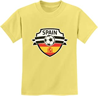 Tstars - Spain Soccer/Football Team Fans Youth Kids T-Shirt