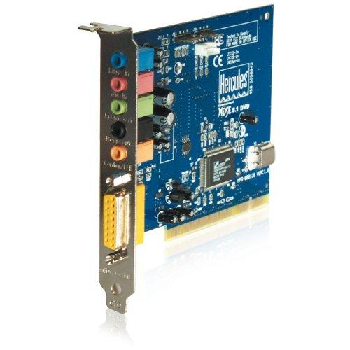 Hercules GS Muse 5.1 DVD Soundkarte + Headset