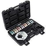 Mophorn A/C Crimpatrice Idraulica Manuale Kit 7 Aria Condizionata Riparazione Strumento di Piegatura del Tubo Flessibile Portatile