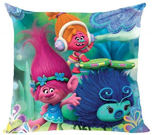 Emceuro Federa cuscino Trolls 40 x 40 cm