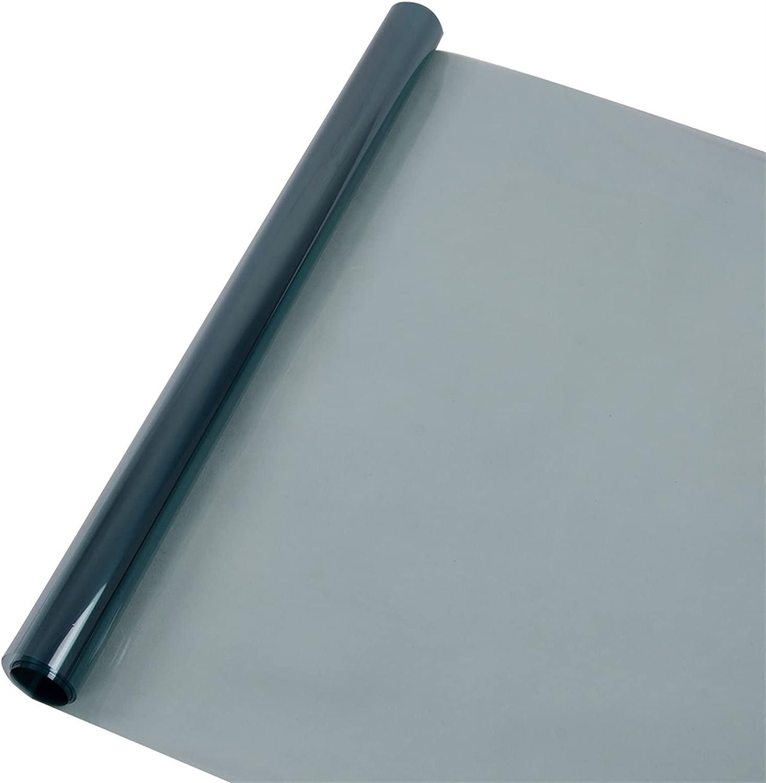 Size : 50cmx300cm RONGSHU 70/% VLT Light Blue Car Side Windshield Car Window Tint Film Ultraviolet Rejection For Car Home Office Glasses 50cmx300cm