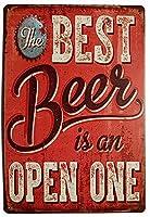 Best Beer Retro ティンサイン ポスター ン サイン プレート ブリキ看板 ホーム バーために