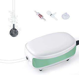 FEDOUR Aquarium Air Pump, Whisper Aerator, Quiet Oxygen Pump for 1L-40L Fish and Turtle Tank