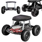 UPP – Sedile a rotelle da Giardino con Portata Fino a 130 kg, Altezza della Seduta a 33 cm, Protegge Le Ginocchia e la Schiena Durante i lavori