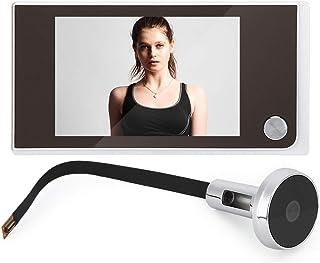 comprar comparacion Visor de Puerta Digital y Timbre/Pantalla LCD a Color de 3.5 Pulgadas Campana de Puerta Cámara de Seguridad de Gran Angula...