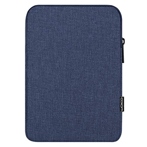 MoKo 12.9 Zoll Tablet Tasche, Tablet Schutzhülle aus Leinen & Baumwolle Sleeve Hülle Tablethülle Tasche Kompatibel mit iPad Pro 12.9 3rd/4th Gen 2018-2020, Surface Laptop Go 12.4