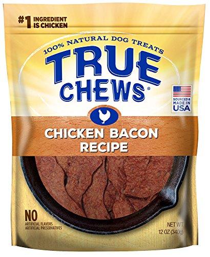 True Chews Dog Treats, Chicken Bacon Recipe, 12 oz, Medium (019369-2303)